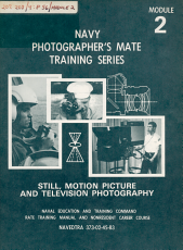 Navy Photographer s Mate Training Series PDF