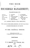 The book of household management PDF