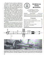 Technical News Bulletin of the National Bureau of Standards PDF