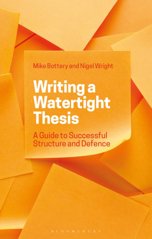 Writing a Watertight Thesis