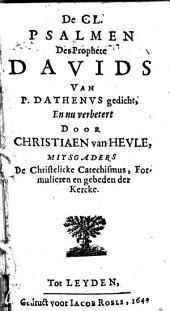Catechismus, ofte Ondervvijsinge in de christelicke leere ...