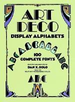 Art Deco Display Alphabets