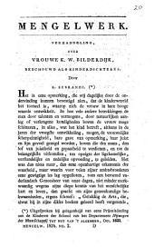 Verhandeling, over vrouwe K. W. Bilderdijk, beschouwd als kinderdichteres