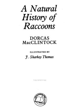 A Natural History of Raccoons