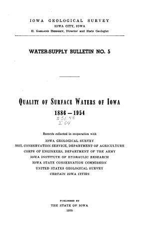 Water supply Bulletin PDF