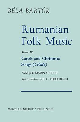 Rumanian Folk Music PDF
