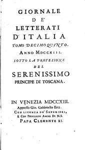 Giornale de' letterati d'Italia