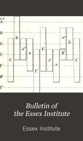 Bulletin of the Essex Institute: Volumes 11-15