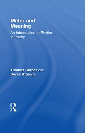 Meter and Meaning PDF