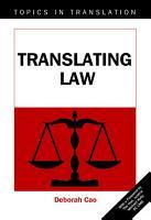 Translating Law PDF