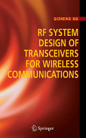 RF System Design of Transceivers for Wireless Communications PDF
