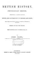 British History  Chronologically Arranged PDF