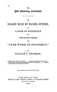 Sealed Book of Daniel Opened PDF