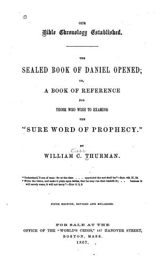 Sealed Book of Daniel Opened PDF