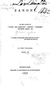 Zanoni: Volume 2