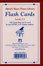 Alfred's Basic Piano Library Flash Cards