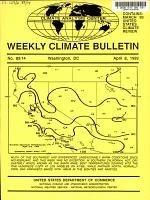 Weekly Climate Bulletin