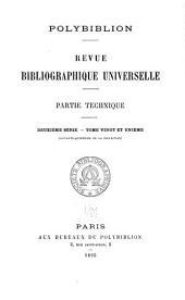Polybiblion: Revue bibliographique universelle, Volume75