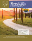 KJV Standard Lesson Commentary r  Casebound Edition 2019 2020 Book