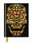 Gold Sugar Skull Notebook PDF