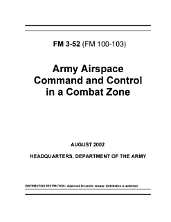 Army Airspace Command and Control in a Combat Zone Book