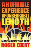 A Horrible Experience of Unbearable Length PDF
