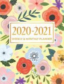 2020 2021 Weekly   Monthly Planner
