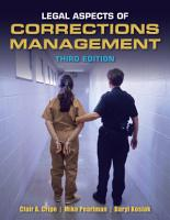 Legal Aspects of Corrections Management PDF