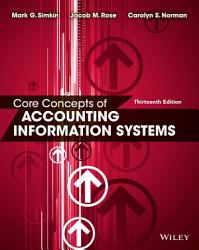 Core Concepts Of Accounting Information Systems Book PDF