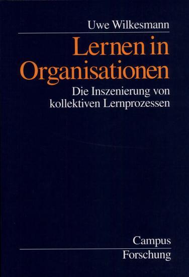 Lernen in Organisationen PDF