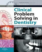 Clinical Problem Solving in Dentistry E Book PDF