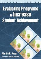 Evaluating Programs to Increase Student Achievement PDF