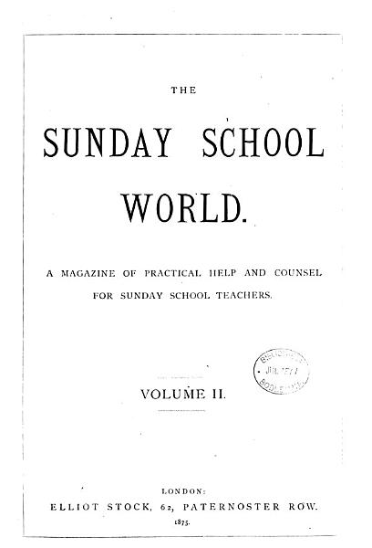 Download The Sunday School World Book