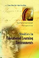 Studies in Educational Learning Environments PDF