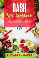 Dash Diet Cookbook