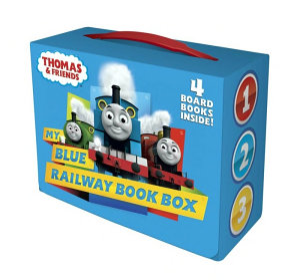 My Blue Railway Book Box  Thomas   Friends