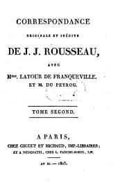 Correspondance : Volume2