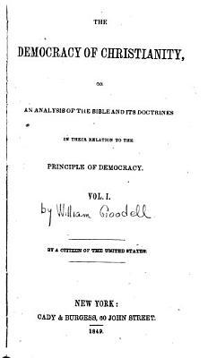 The Democracy of Christianity PDF