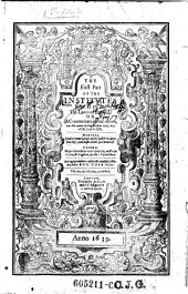 The First Part of the Institutes of The Lawes of England, Or A Commentary Upon Littleton, Not the Name of the Author Only, But of the Law it Selfe ; The Fourth Edition, Corrected