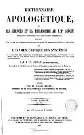 Dictionnaire des inventions et découvertes anciennes et modernes; publ. par l'abbé Migne: Volume 51