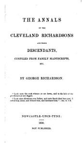 The annals of the Cleveland Richardsons