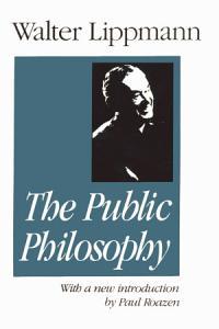 Essays in the Public Philosophy PDF