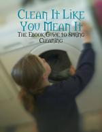 Clean It Like You Mean It - The Ebook Guide to Spring Cleaning