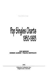 Cash Box Pop Singles Charts  1950 1993 PDF