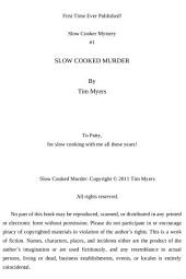 Slow Cooked Murder: Slow Cooking Mystery #1