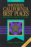 Northern California Best Places Book