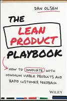The Lean Product Playbook PDF