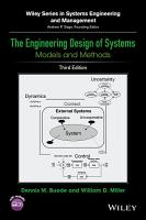 The Engineering Design of Systems PDF