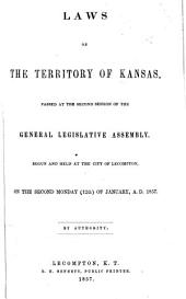 The Statutes of the Territory of Kansas