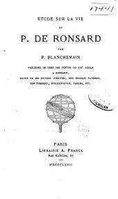 Œuvres complètes de P. de Ronsard: Volume8
